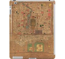 Vintage Map of Beijing China (1914) iPad Case/Skin