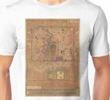 Vintage Map of Beijing China (1914) Unisex T-Shirt