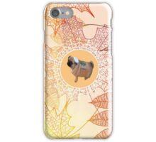 pugkin spice latte iPhone Case/Skin