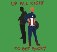 We're up all night to get Bucky by mynnispunk
