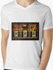 Gumballs All In A Row - Series - Iconic New York City Mens V-Neck T-Shirt