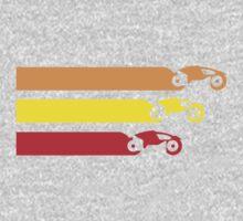 TRON LIGHT CYCLE RACING (2) One Piece - Long Sleeve