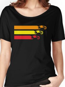 TRON LIGHT CYCLE RACING (2) Women's Relaxed Fit T-Shirt