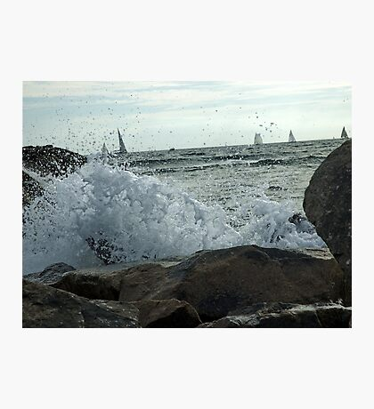 Quiet Sail Photographic Print