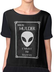 House Mulder Chiffon Top