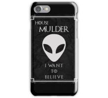 House Mulder iPhone Case/Skin