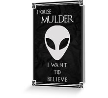 House Mulder Greeting Card