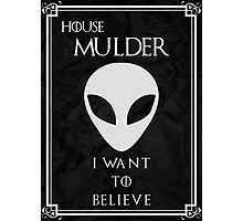 House Mulder Photographic Print