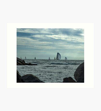 Afternoon Sail Art Print