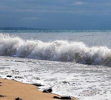 Stormy Sea Colours by Susie Peek