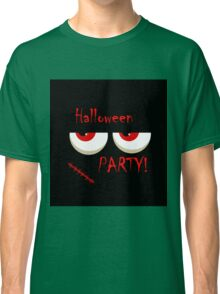 Halloween party - monsters red eyes Classic T-Shirt