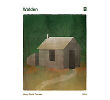 Walden - Henry David Thoreau Photographic Print