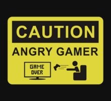 Angry Gamer by masxxi