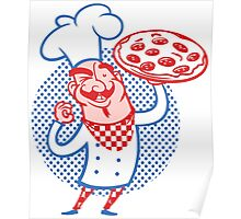 Pizza Chef Poster