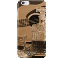 To Relax is to Inspire, when making music iPhone Case/Skin
