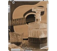 To Relax is to Inspire, when making music iPad Case/Skin