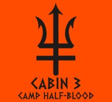 CABIN 3 (CAMP HALF BLOOD) by bekemdesign