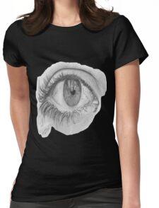 Eye T-shirt Womens Fitted T-Shirt