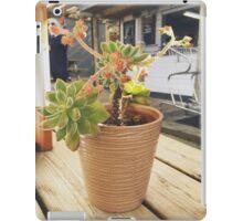 Plant in a pot iPad Case/Skin