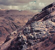 Black Wars, Langdale Valley, The Lake District by Andy Stafford