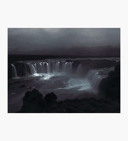 Goðafoss (waterfall of the gods) Photographic Print