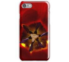Red Tulip iPhone Case/Skin