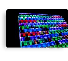 Psychedelic Abode Canvas Print