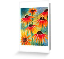 Last Coneflowers Greeting Card
