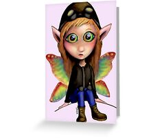 Fairy Aviator Greeting Card
