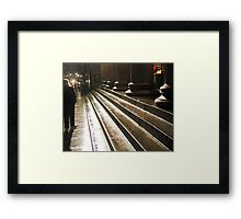 First night, last night Framed Print