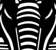 Sphinx Head Silhouette Sticker