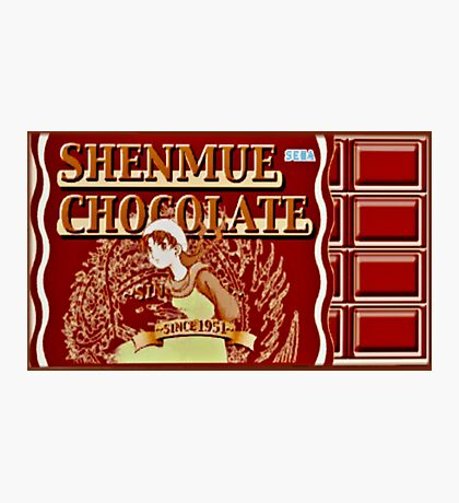 Shenmue Chocolate Shenmue Photographic Print