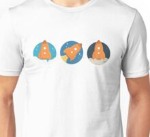 Space Rockets (Liftoff to Moon Landing) Unisex T-Shirt