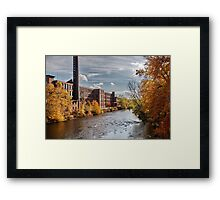 Ashton Mills (in Autumn) Framed Print
