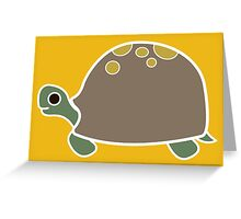 Tortoise (brown shell) Greeting Card