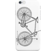 Bicycle Blueprint iPhone Case/Skin