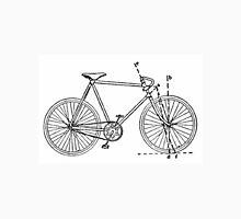 Bicycle Blueprint Unisex T-Shirt
