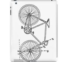 Bicycle Blueprint iPad Case/Skin