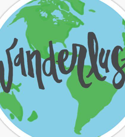 Wanderlust World Sticker