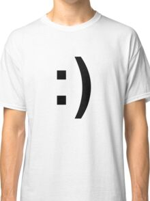 Smiley Face :) Classic T-Shirt