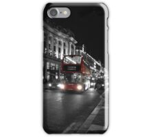 LONDON - red bus iPhone Case/Skin