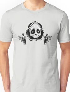 Skull - Funny Cartoon Unisex T-Shirt