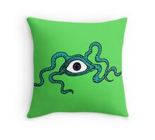 Monster Eye Throw Pillow