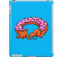 Doughtshund with sprinkles iPad Case/Skin