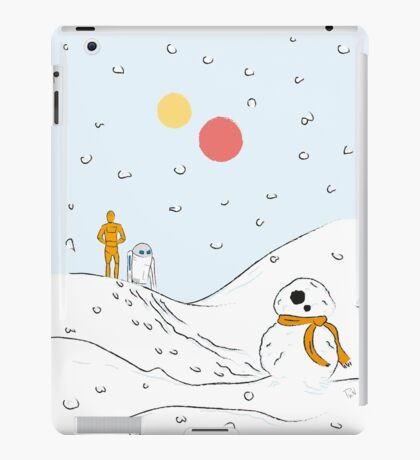 A Very BB8 Christmas iPad Case/Skin