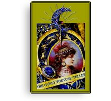 THE GYPSY FORTUNE-TELLER; Vintage Print Canvas Print