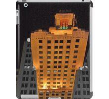 Skyscraper at night iPad Case/Skin