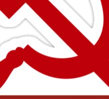 Obey Hammer and Sickle Sticker