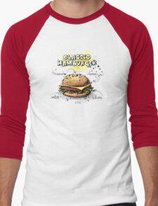 Classic Hamburger Illustration with Ingredients T-Shirt