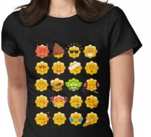 My Emojis Womens Fitted T-Shirt